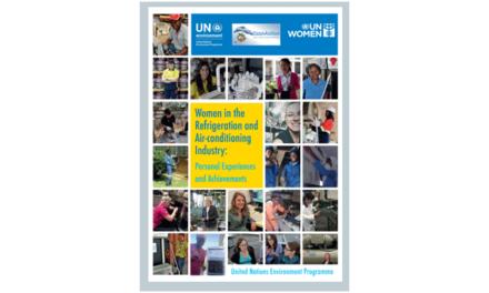 Publicação da ONU quer mostrar que o ar condicionado também pode ser um sector para mulheres