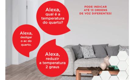 Já é possível controlar os splits de parede da Fujitsu com controlo Wifi através do dispositivo Alexa