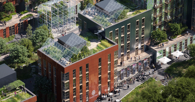 Ingredientes para o futuro sustentável de um bairro em Oslo
