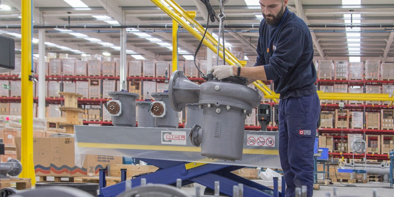EFAFLU exporta 15 bombas TGCL  para projeto de expansão da rede elétrica brasileira