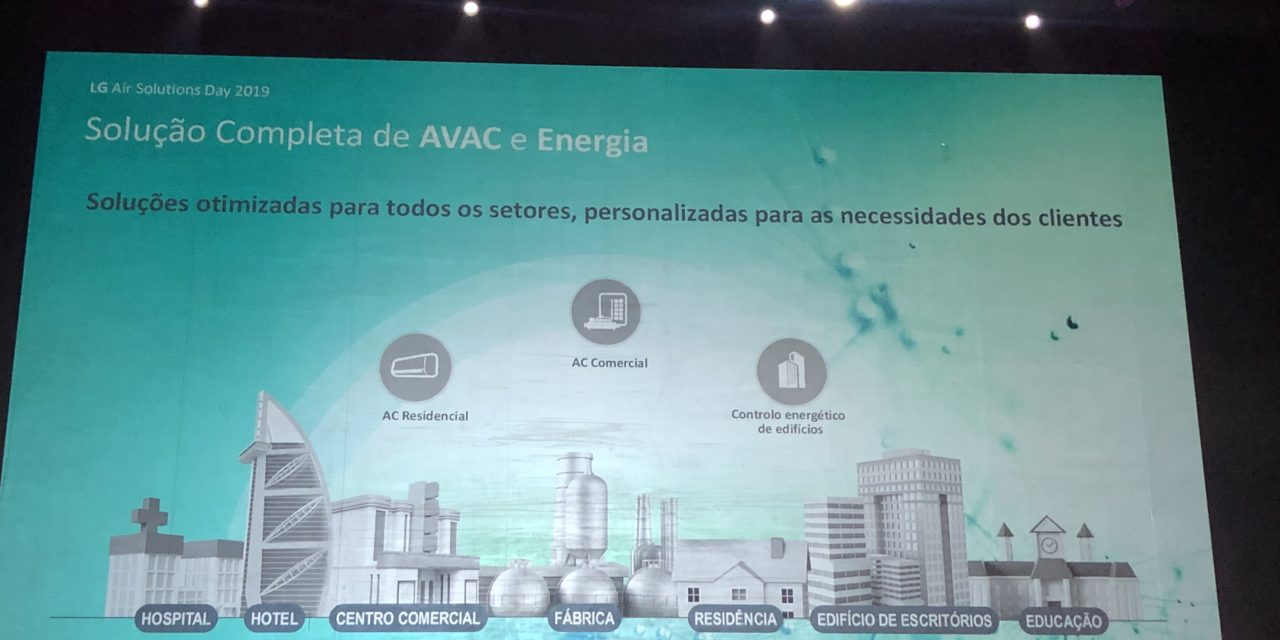 LG apresenta novidades para ar condicionado e soluções energéticas