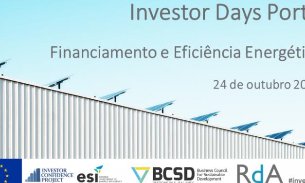 Investor Days está de volta ao Porto para ajudar a resolver o desafio do financiamento