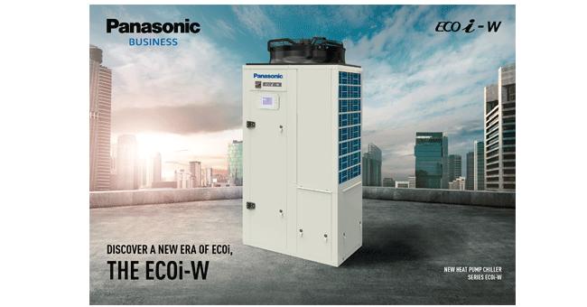 A Panasonic apresenta uma nova era para a ECOi: os Chillers da série ECOi-W