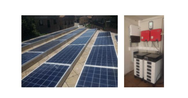 Instalação fotovoltaica numa vivenda unifamiliar em Burgos