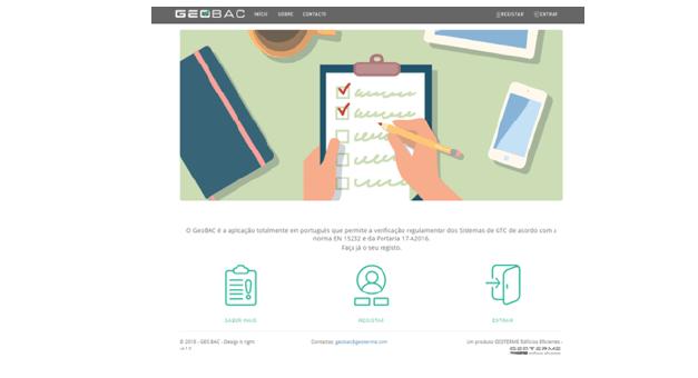 GeoBAC – A primeira ferramenta on-line de verificação dos sistemas de Gestão Técnica Centralizada de acordo com o RECS e a Norma EN15232:2017