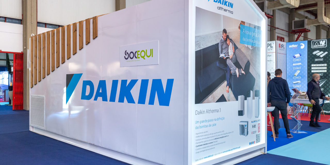 Soluções Daikin na Feira Concreta 2019