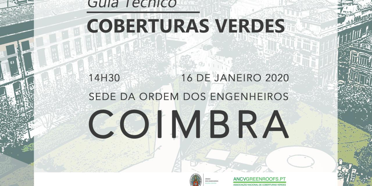 Primeiro Guia Técnico para Coberturas Verdes é lançado esta semana em Coimbra e Lisboa
