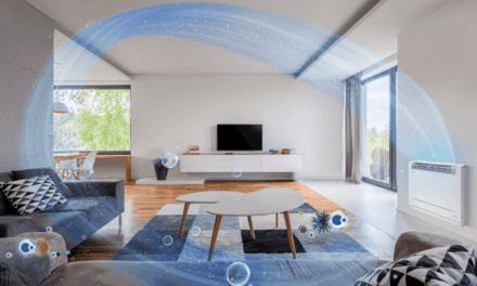 A nova consola de chão da Panasonic purifica o ar com o sistema nanoe X